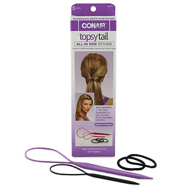 Conair topsy tail 5 pc kit 350x350