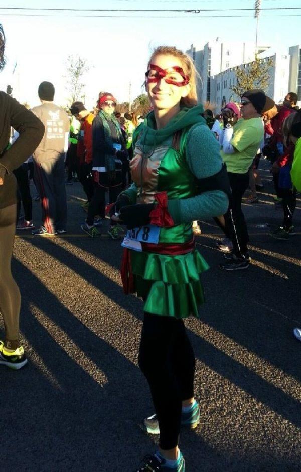 Raphael running costume