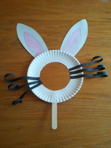 Bunny mask 225x300