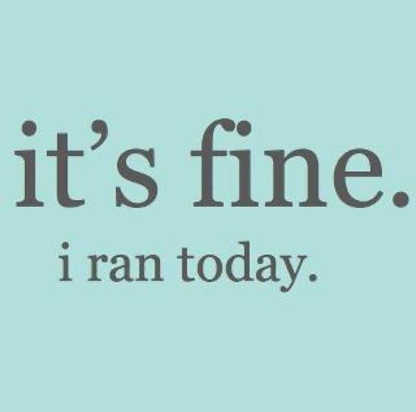 Its fine i ran today