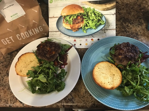 Hello Fresh Juicy Lucy Burger Recipe