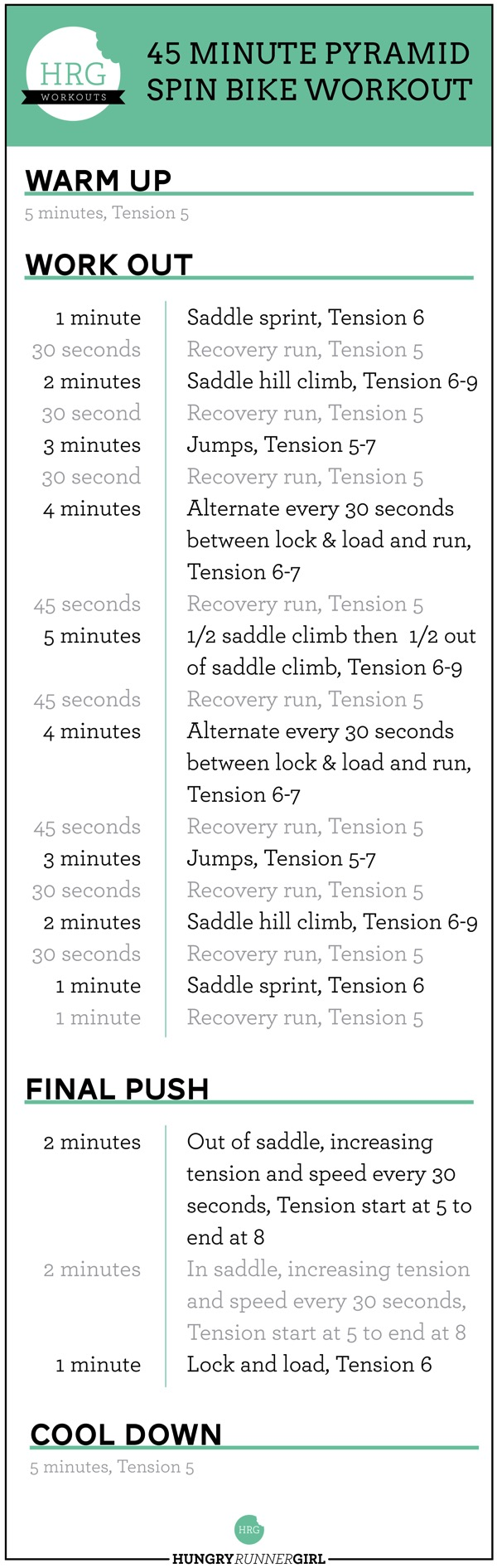 9 Pyramid Spin Workout 01