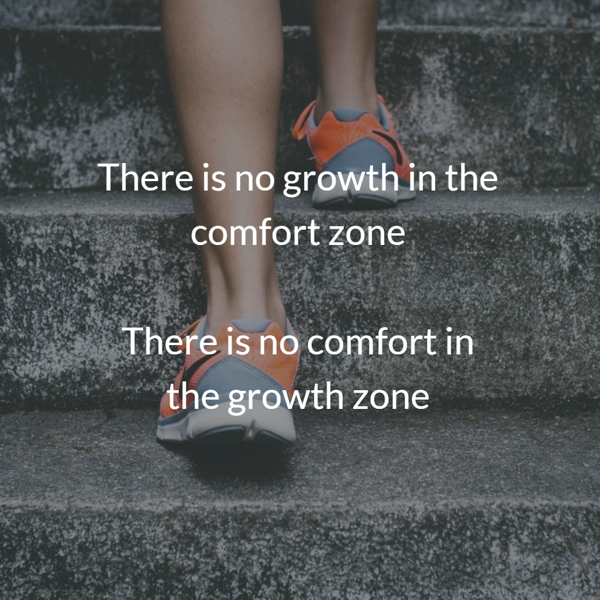 Growth in the comfort zone